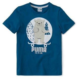 Изображение Puma Детская футболка Animals Suede Tee