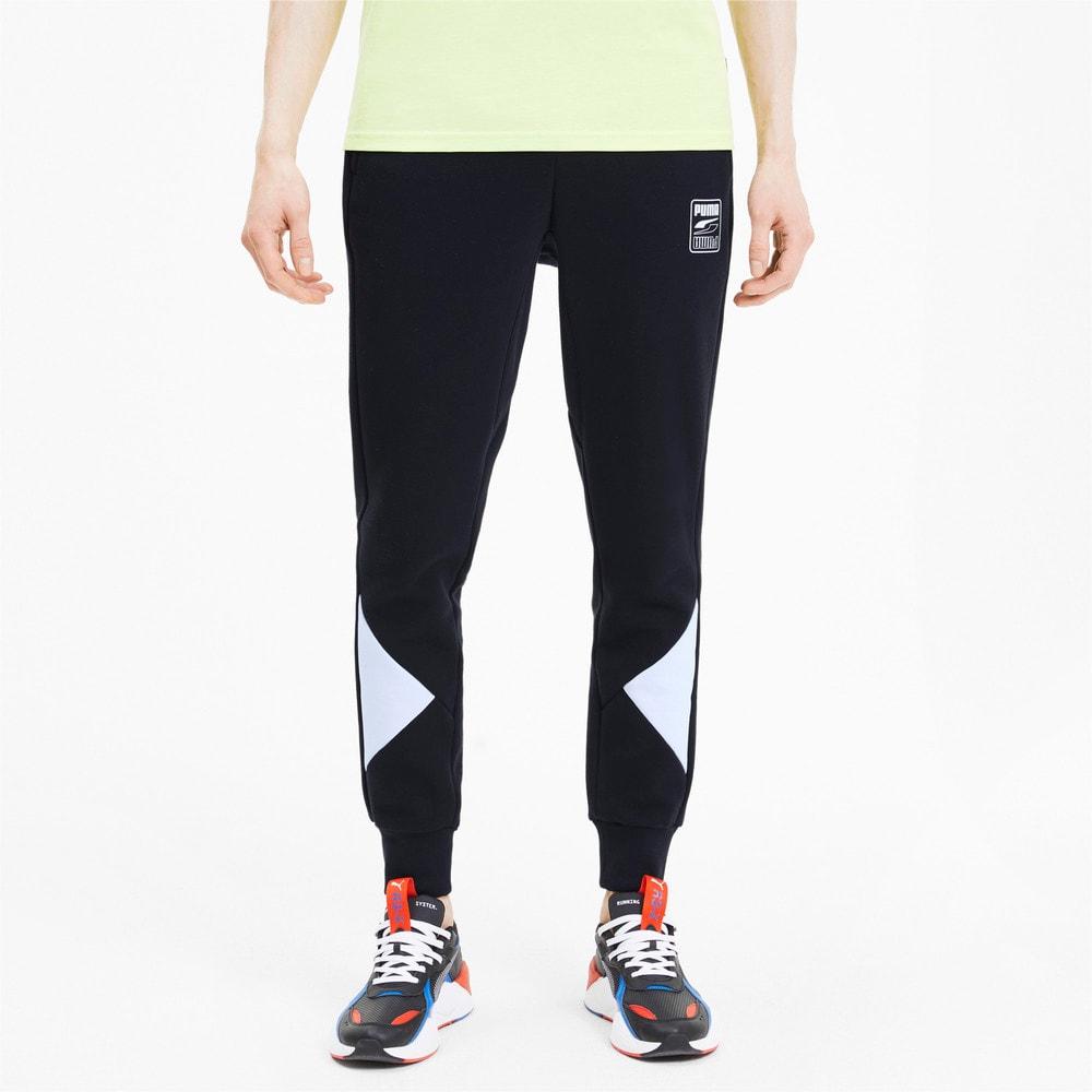 Imagen PUMA Pantalones deportivos Rebel Block para hombre #1