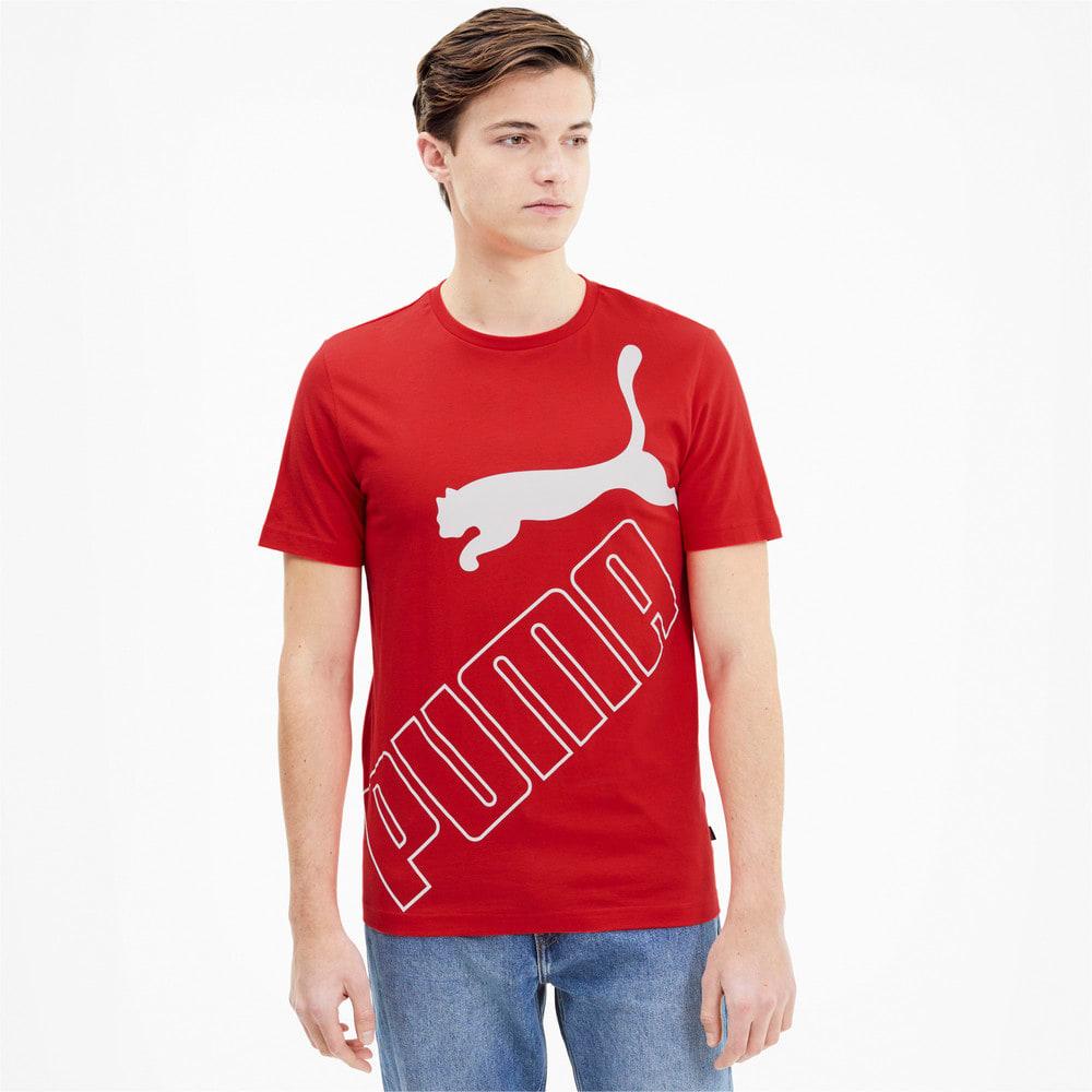 Зображення Puma Футболка Big Logo Short Sleeve Men's Tee #1