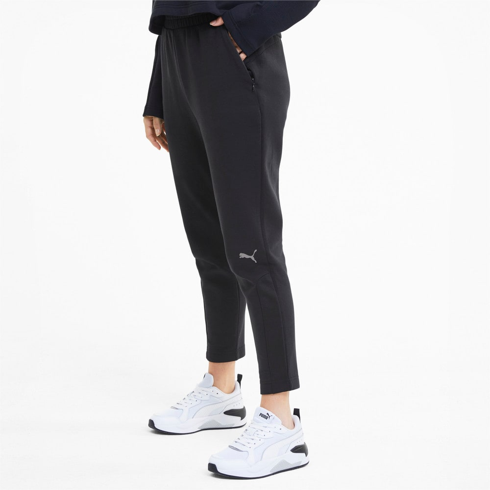 Imagen PUMA Pantalones deportivos Evostripe Knitted para mujer #1