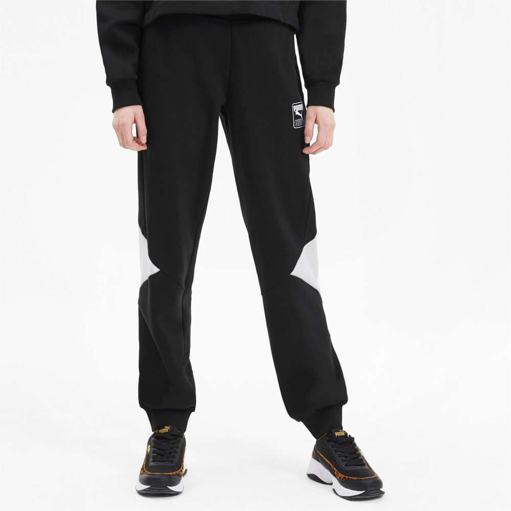 Imagen PUMA Pantalones deportivos Rebel Knitted para mujer #1