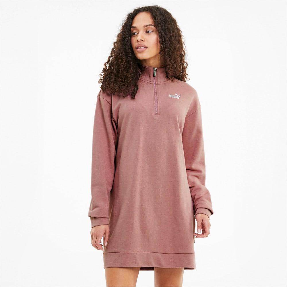 Изображение Puma Платье ESS+ Half-Zip Dress #1