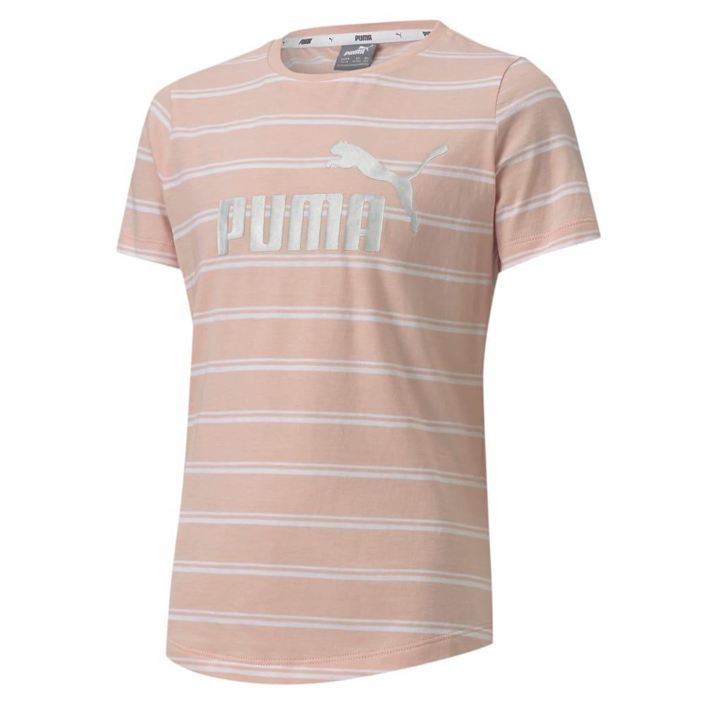 Image Puma Essentials+ Striped Youth Tee #1