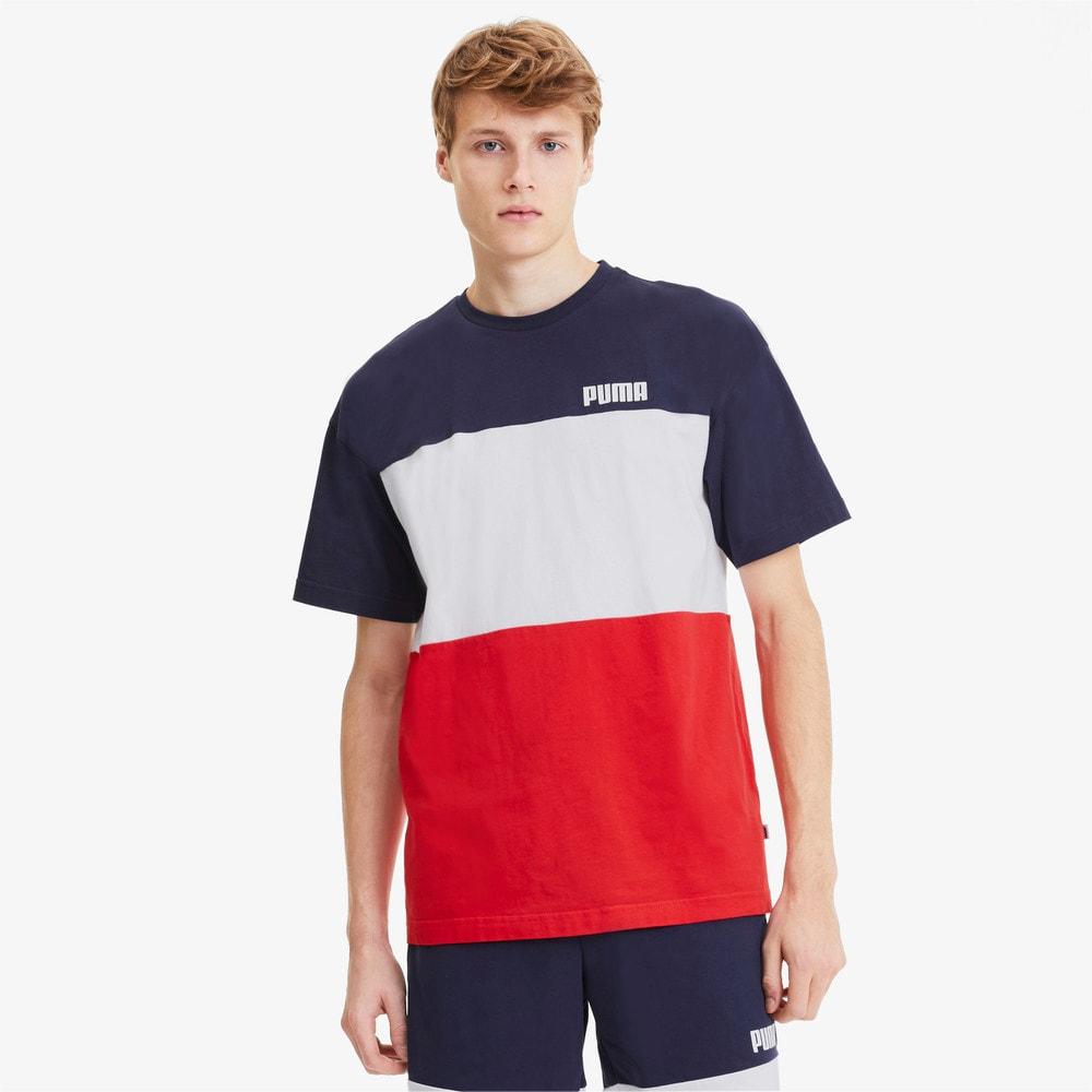 Görüntü Puma CELEBRATION Colour Block T-shirt #1