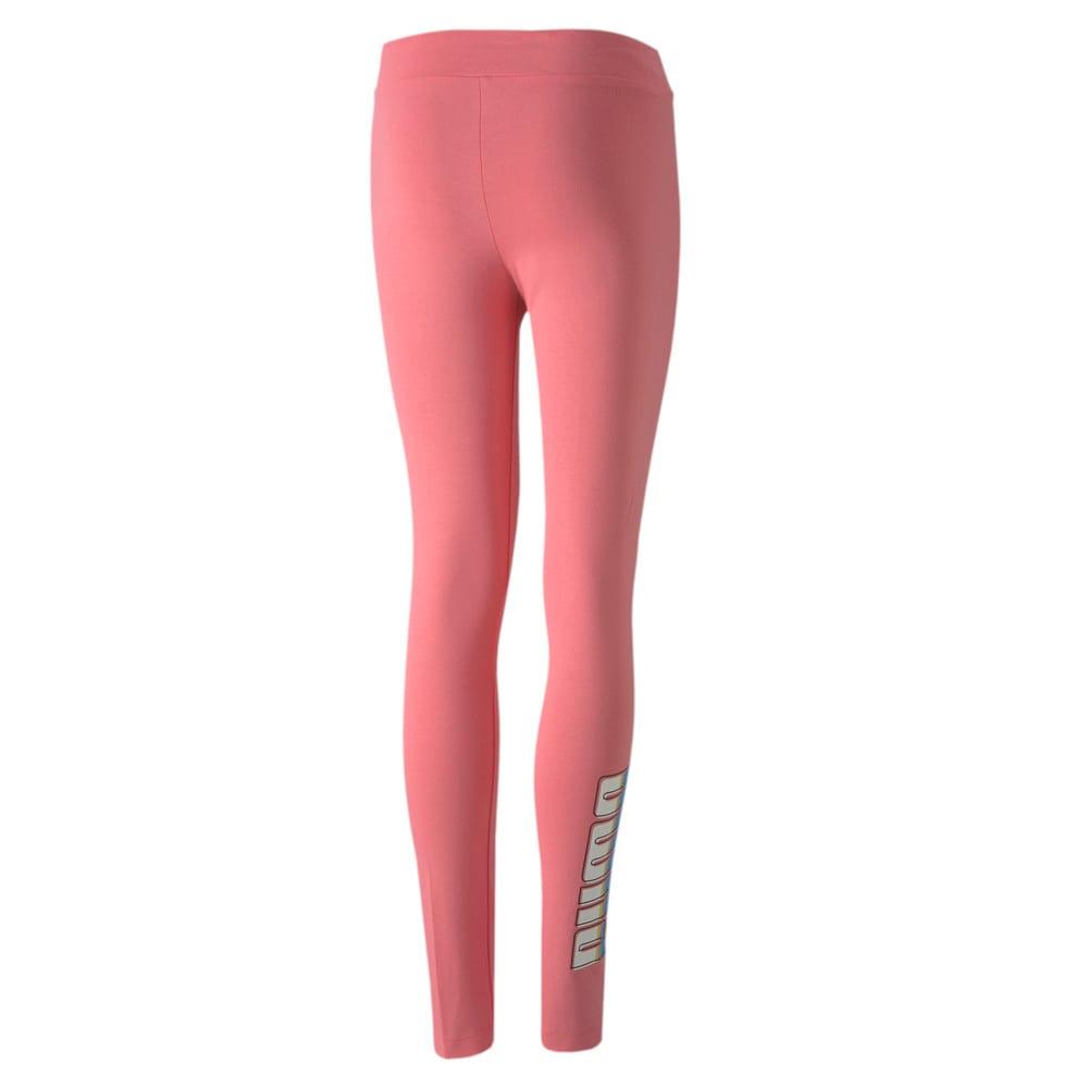 Изображение Puma Детские леггинсы CELEBRATION Girls Leggings #2