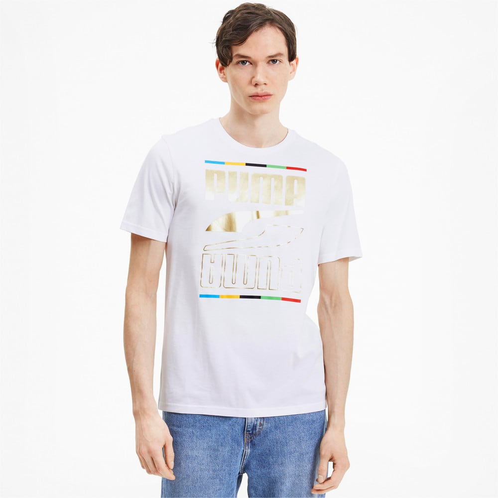 Image Puma The Unity Collection Rebel 5 Continents Men's Tee #1