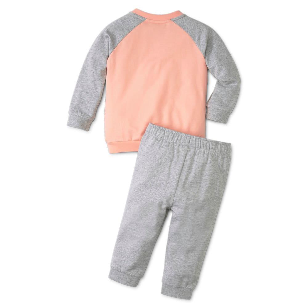 Изображение Puma Детский комплект Minicats Essentials Raglan Babies' Jogger #2