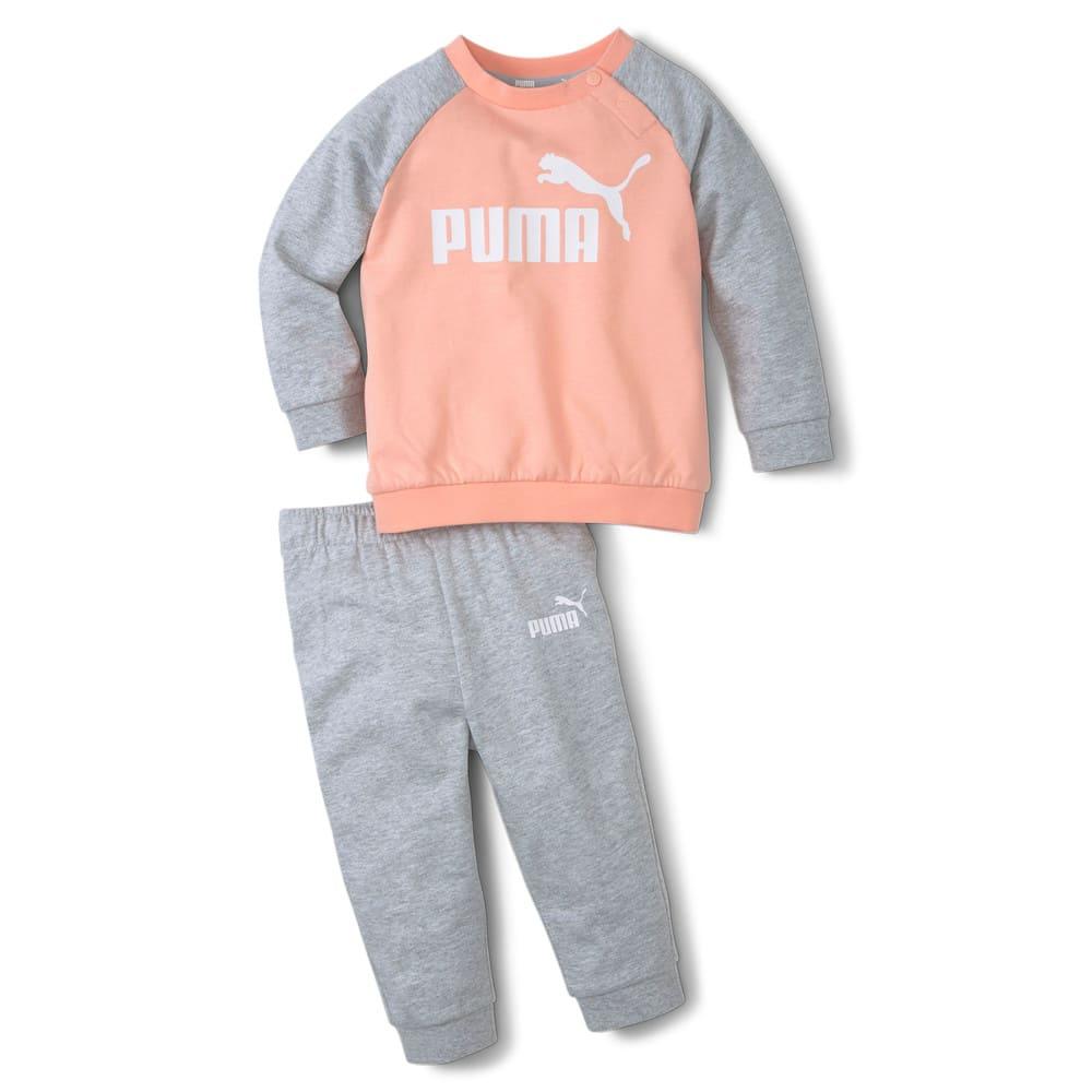 Изображение Puma Детский комплект Minicats Essentials Raglan Babies' Jogger #1