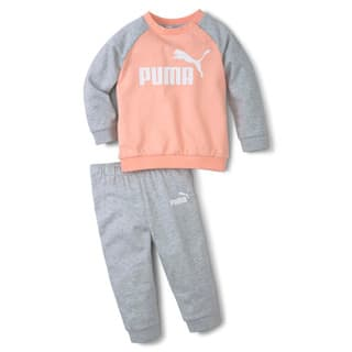 Изображение Puma Детский комплект Minicats Essentials Raglan Babies' Jogger