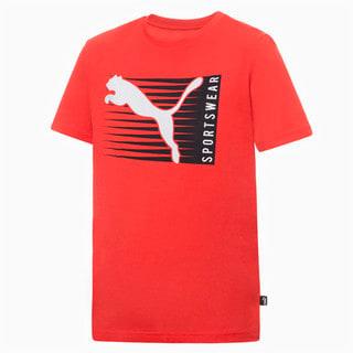 Изображение Puma Детская футболка Boys Cat Logo Tee