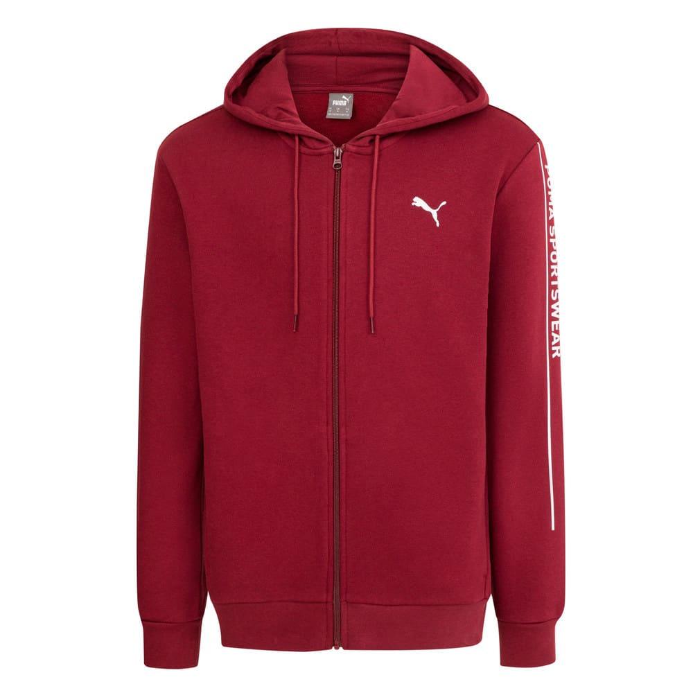 Görüntü Puma PUMA Sportswear Kapüşonlu Fermuarlı Erkek Ceket #1