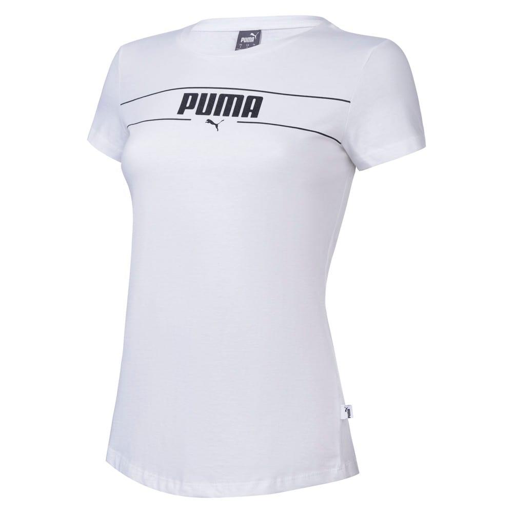 Изображение Puma Футболка BLANK Womens Tee I #1
