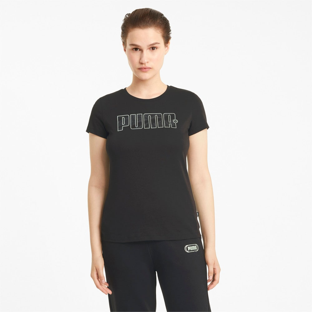 Зображення Puma Футболка Rebel Graphic Women's Tee #1