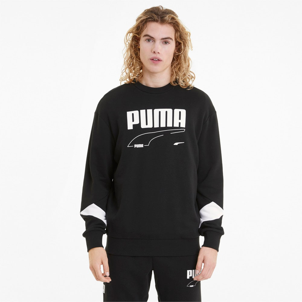 Изображение Puma Толстовка Rebel Crew Neck Men's Sweater #1