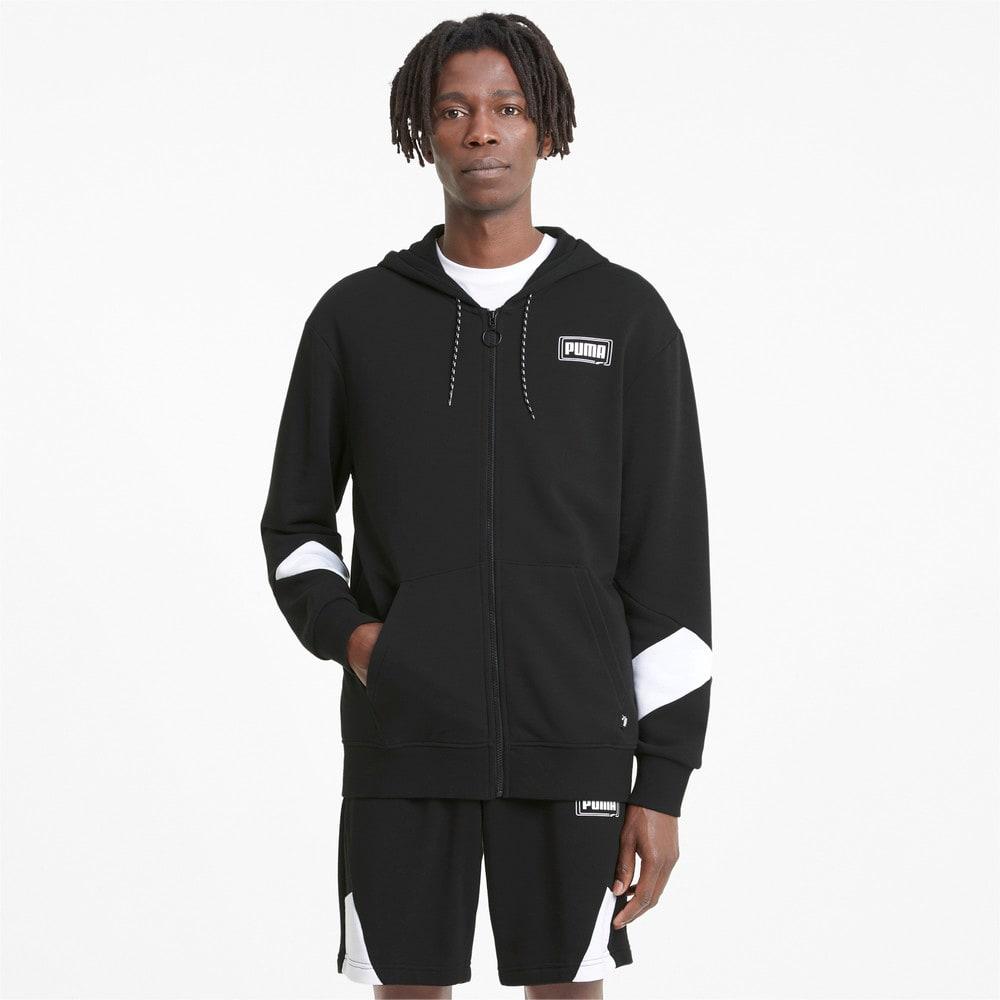 Изображение Puma Толстовка Rebel Full-Zip Men's Hoodie #1: Puma Black