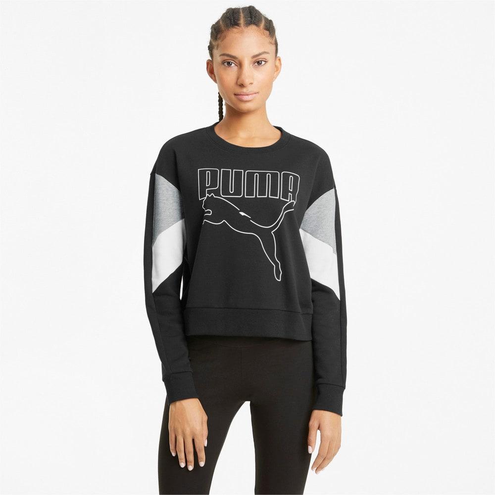 Изображение Puma Толстовка Rebel Crew Neck Women's Sweater #1