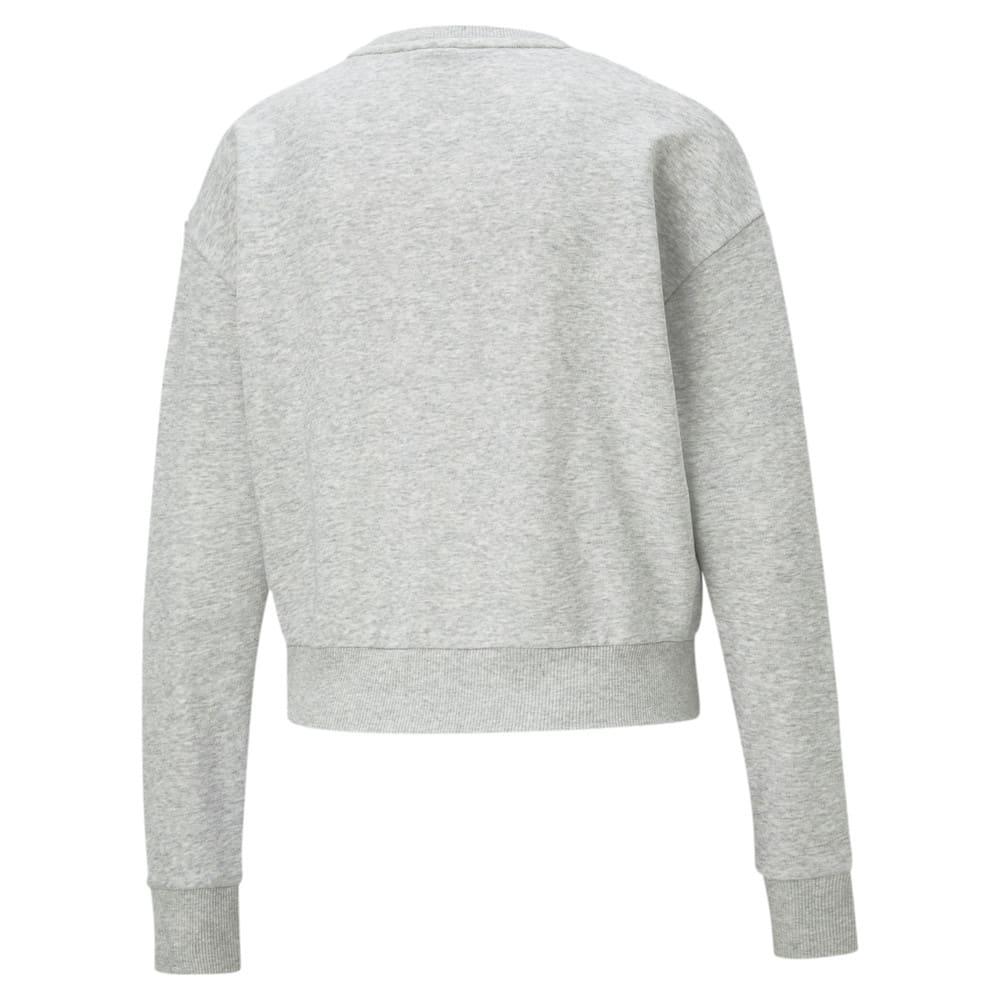 Зображення Puma Толстовка Rebel Crew Neck Women's Sweater #2: light gray heather