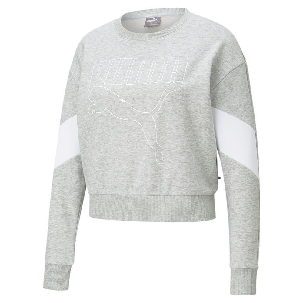 Зображення Puma Толстовка Rebel Crew Neck Women's Sweater #1: light gray heather