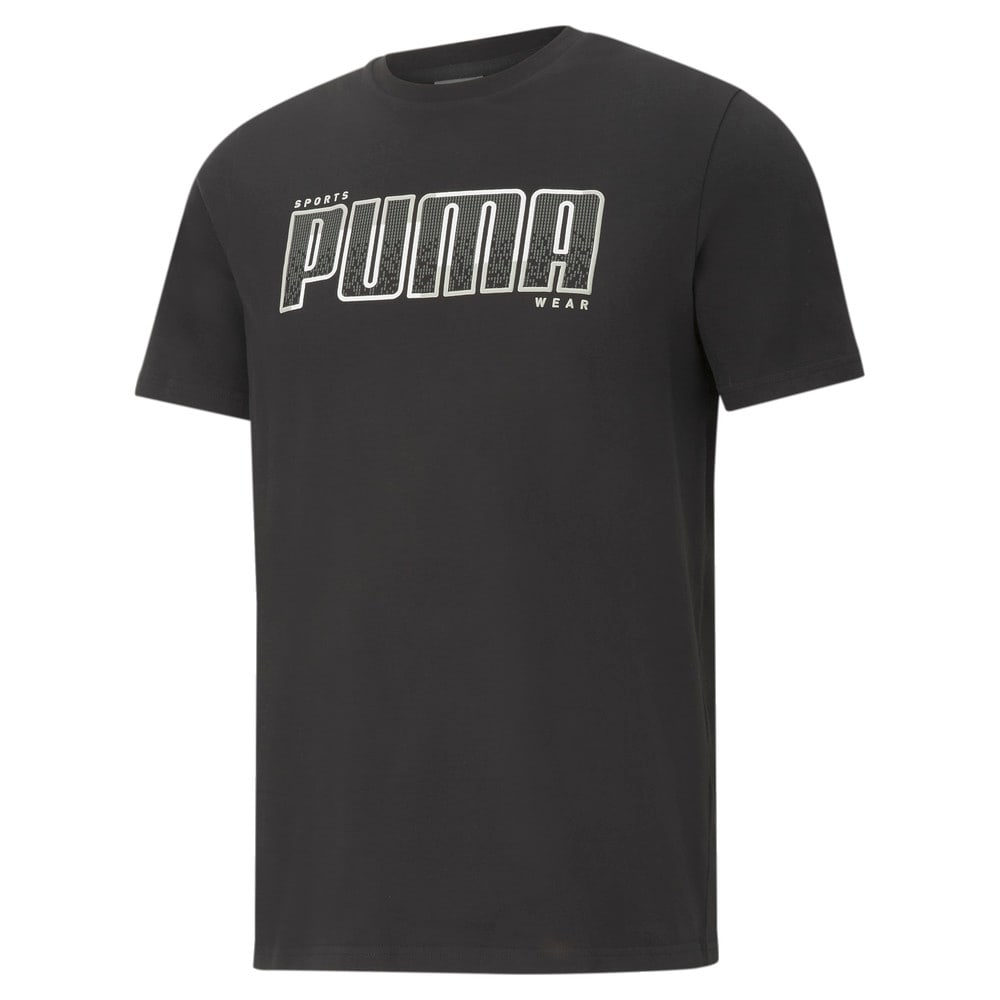 Зображення Puma Футболка Athletics Big Logo Men's Tee #1