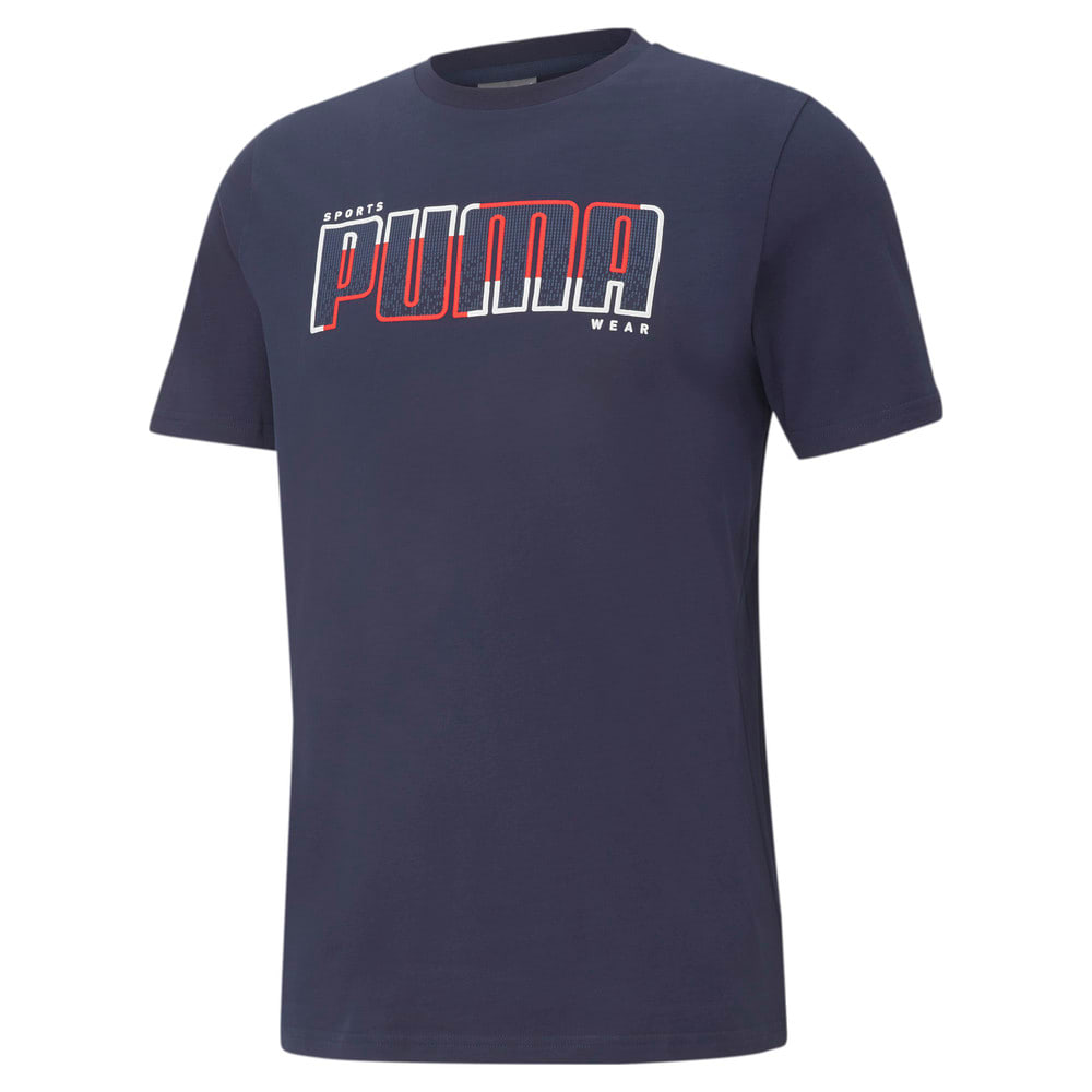 Зображення Puma Футболка Athletics Big Logo Men's Tee #1