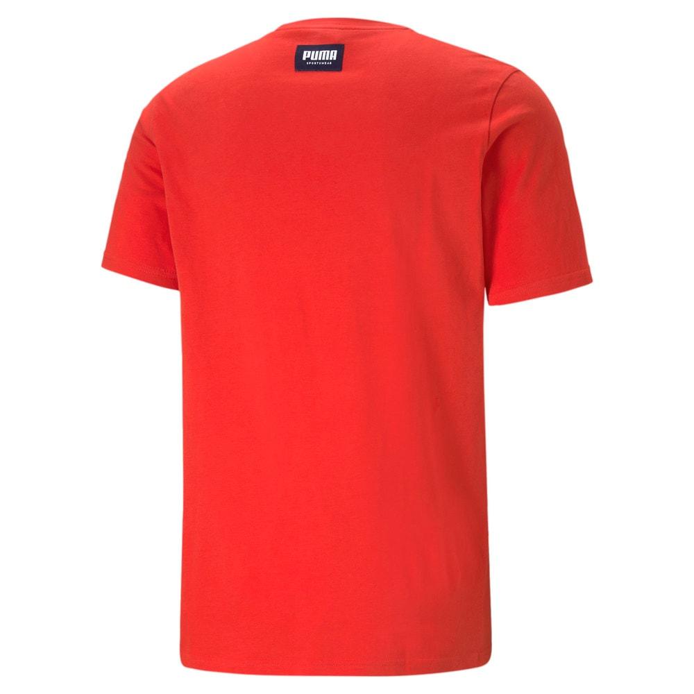 Зображення Puma Футболка Athletics Big Logo Men's Tee #2: high risk red