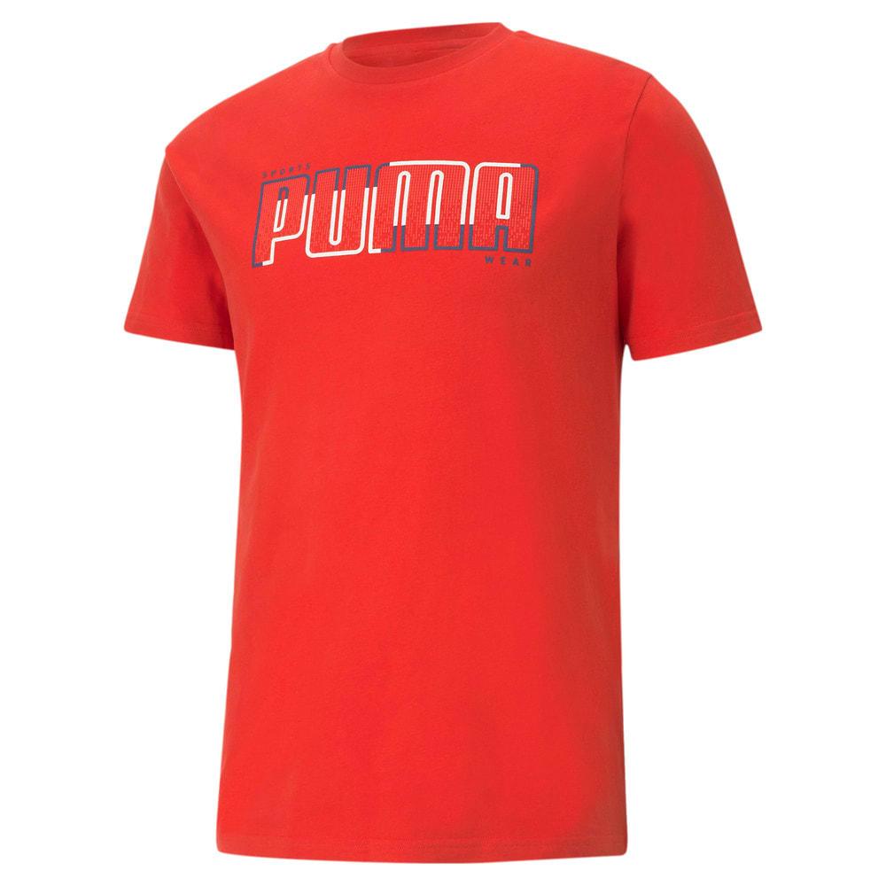 Зображення Puma Футболка Athletics Big Logo Men's Tee #1: high risk red