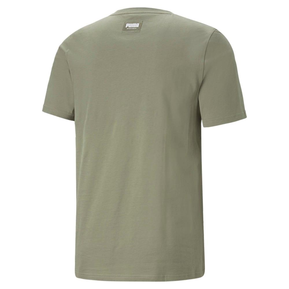 Изображение Puma Футболка Athletics Big Logo Men's Tee #2: Vetiver