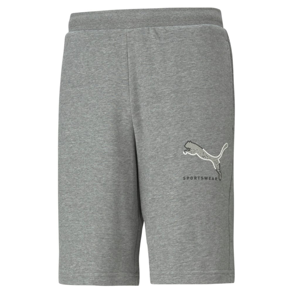 Изображение Puma Шорты Athletics Men's Shorts #1: Medium Gray Heather