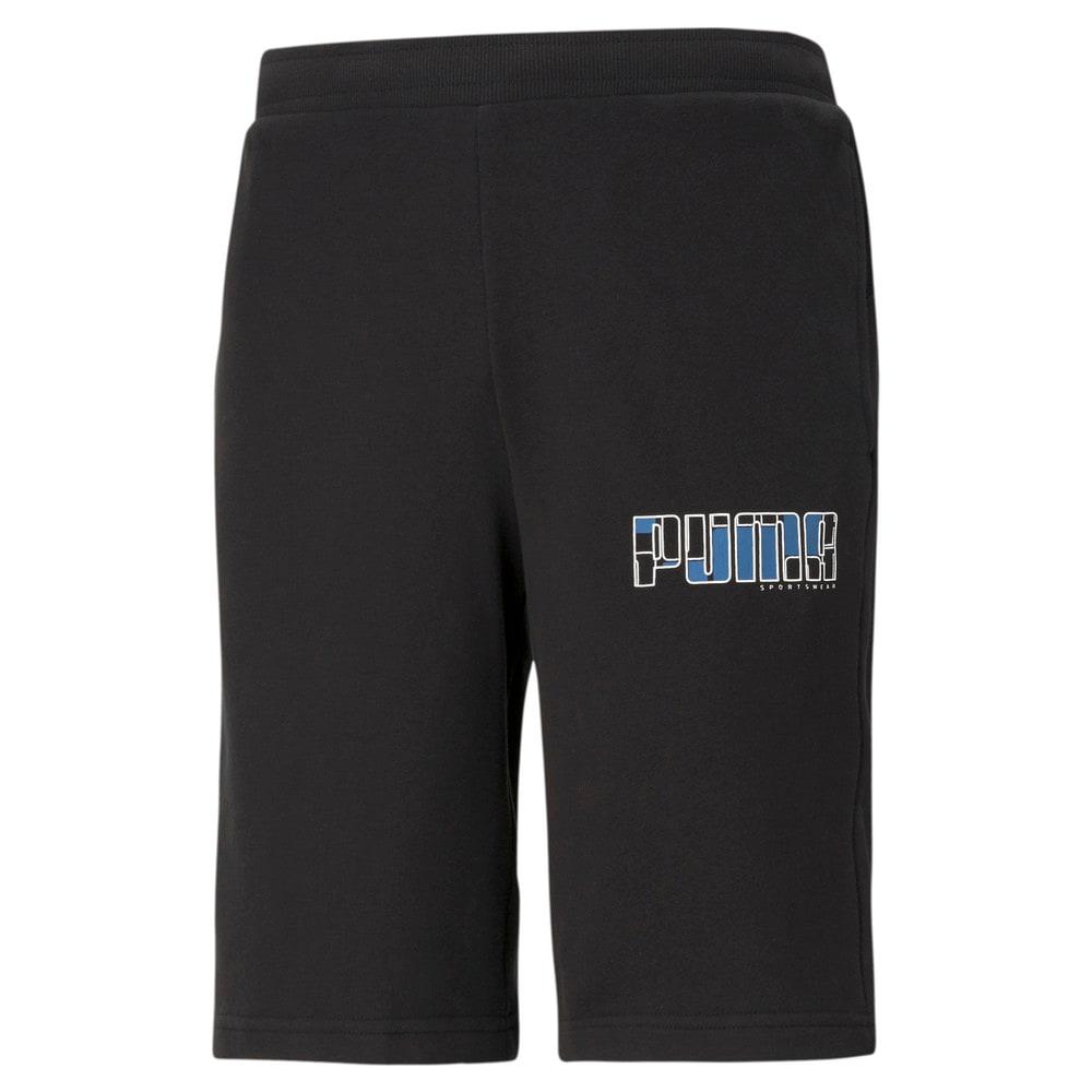 Зображення Puma Шорти Athletics Men's Shorts #1: Puma Black