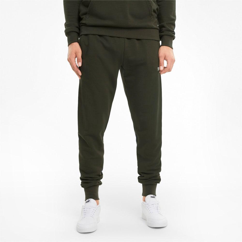 Изображение Puma Штаны Big Logo Men's Sweatpants #1: Forest Night