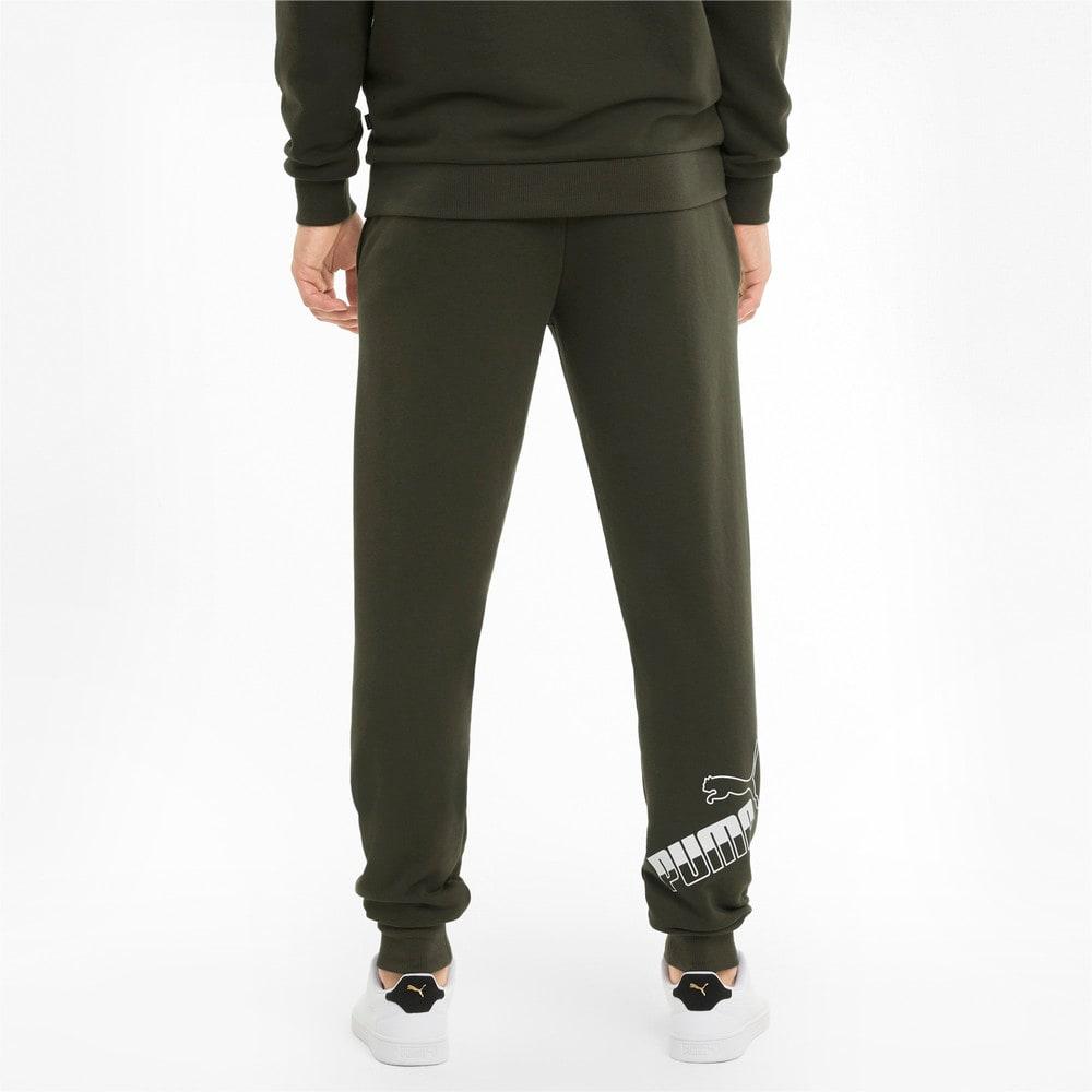 Изображение Puma Штаны Big Logo Men's Sweatpants #2: Forest Night