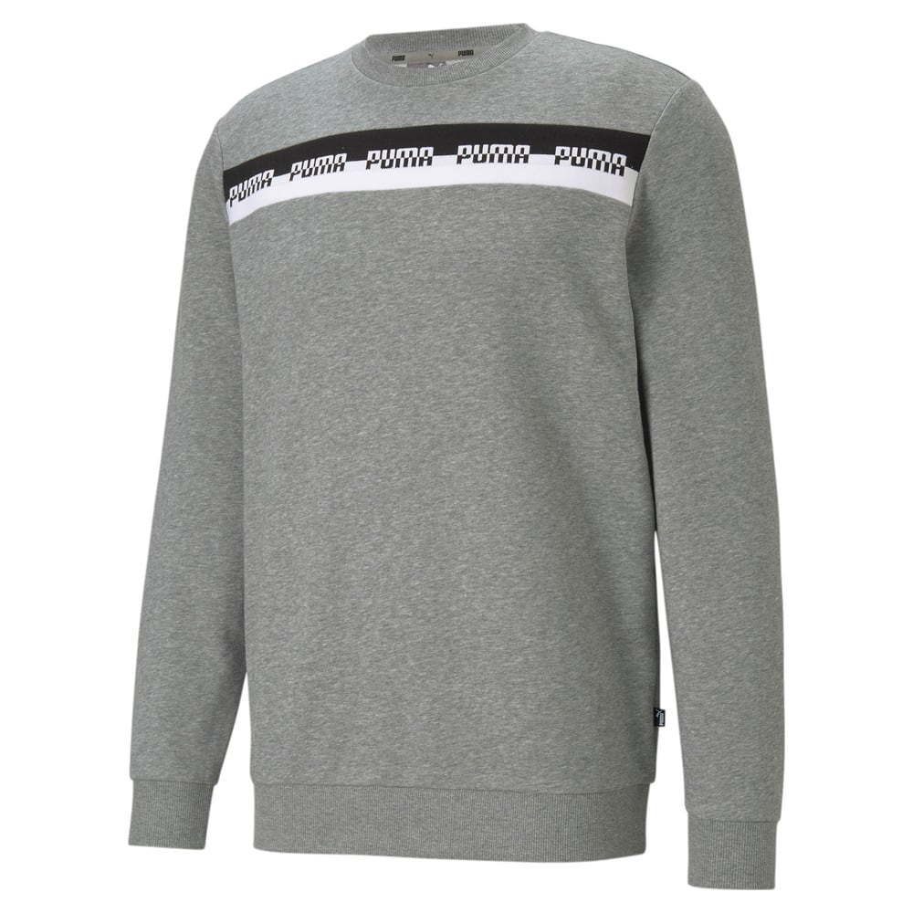 Зображення Puma Толстовка Amplified Crew Neck Men's Sweater #1