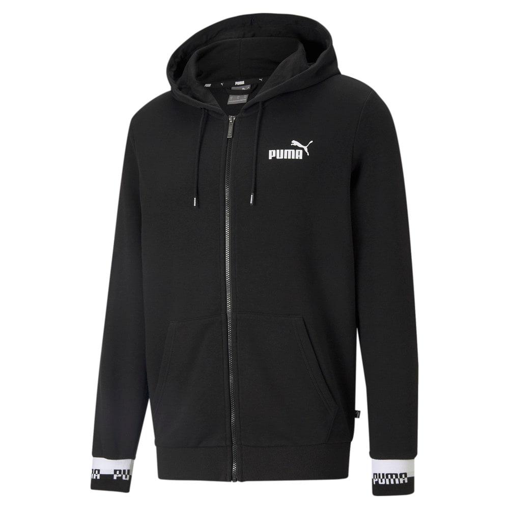 Изображение Puma Толстовка Amplified Full-Zip Men's Hoodie #1: Puma Black