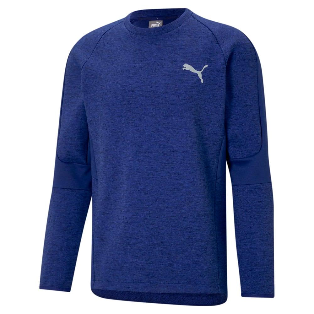 Зображення Puma Толстовка Evostripe Crew Neck Men's Sweater #1: Elektro Blue