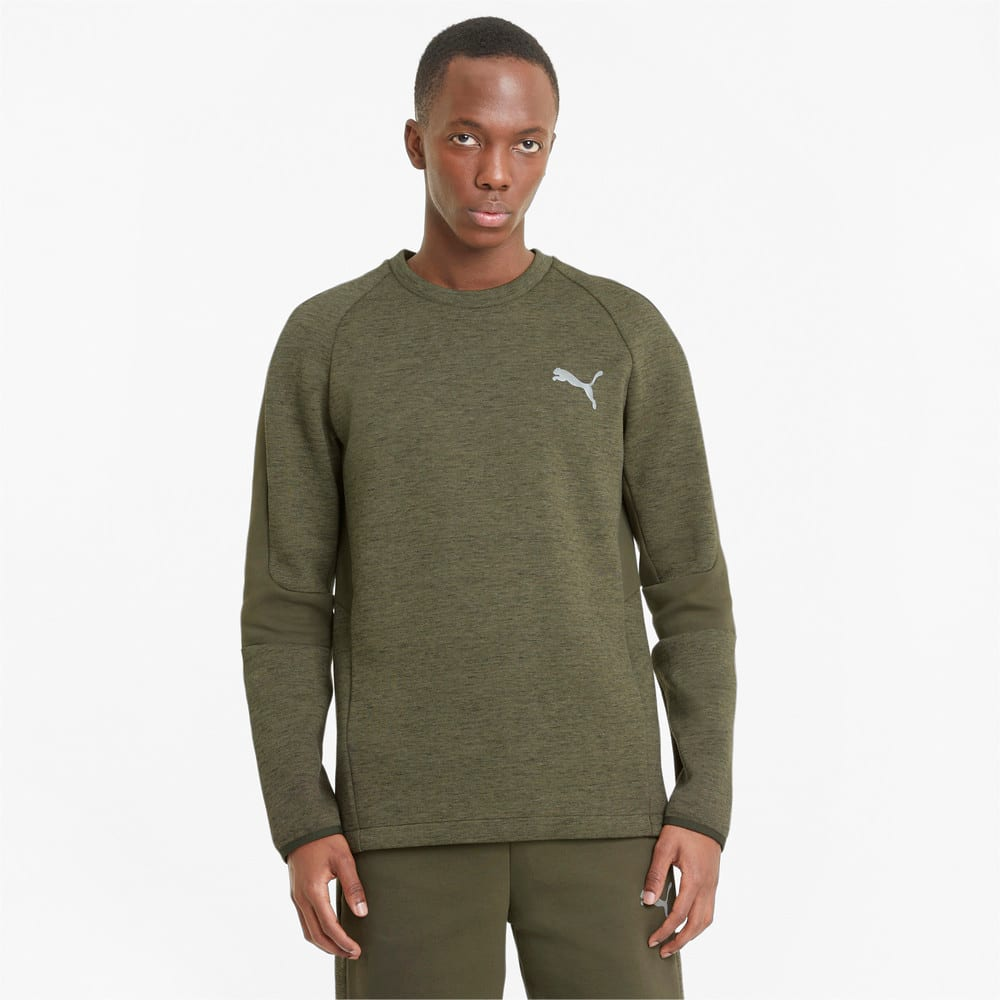 Изображение Puma Толстовка Evostripe Crew Neck Men's Sweater #1