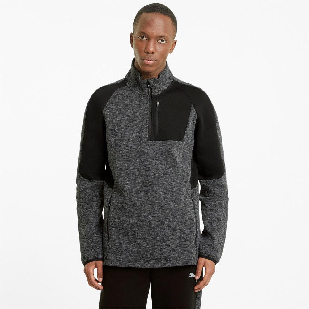 Изображение Puma Толстовка Evostripe Half-Zip Men's Sweater #1
