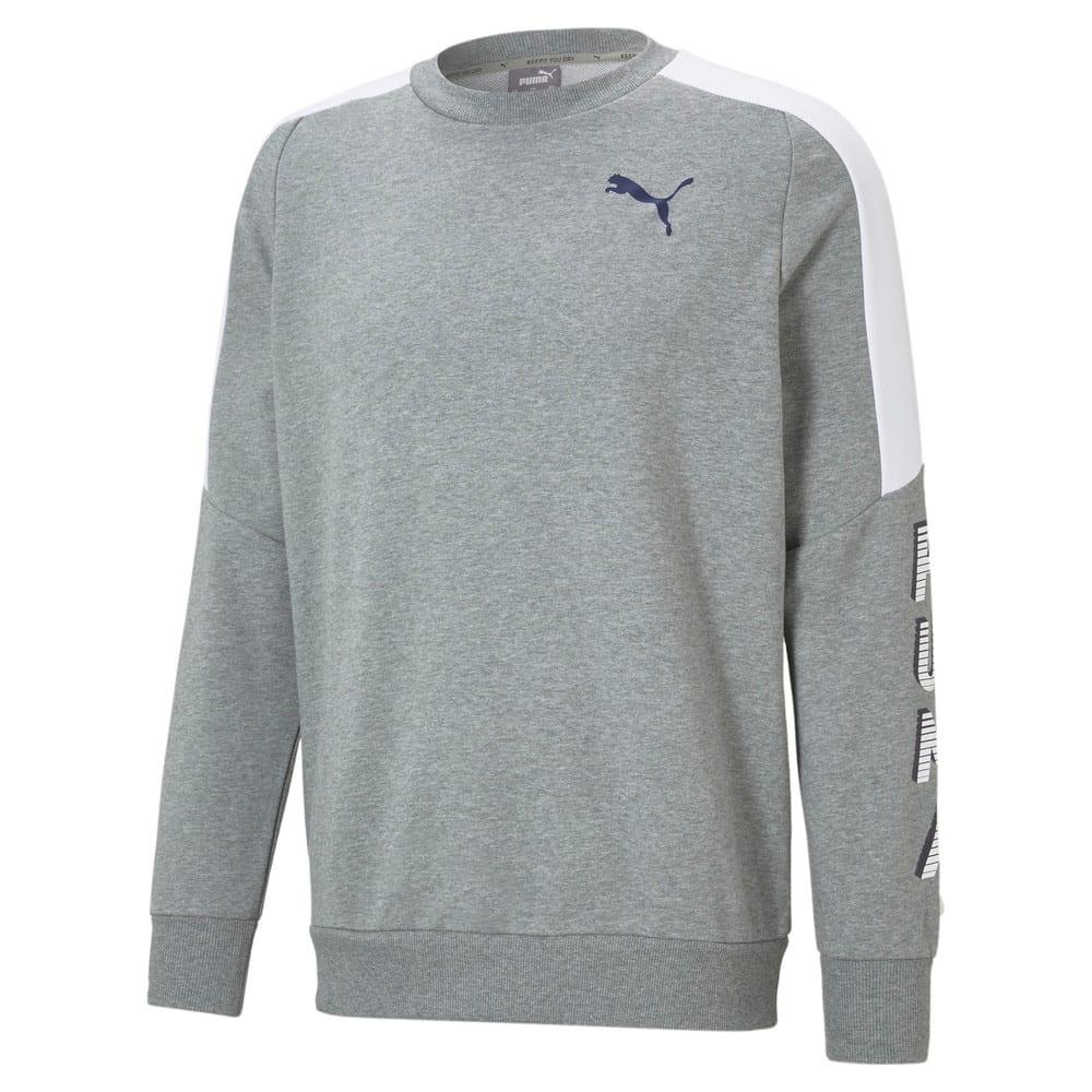 Изображение Puma Толстовка Modern Sports Crew Neck Men's Sweater #1: Medium Gray Heather