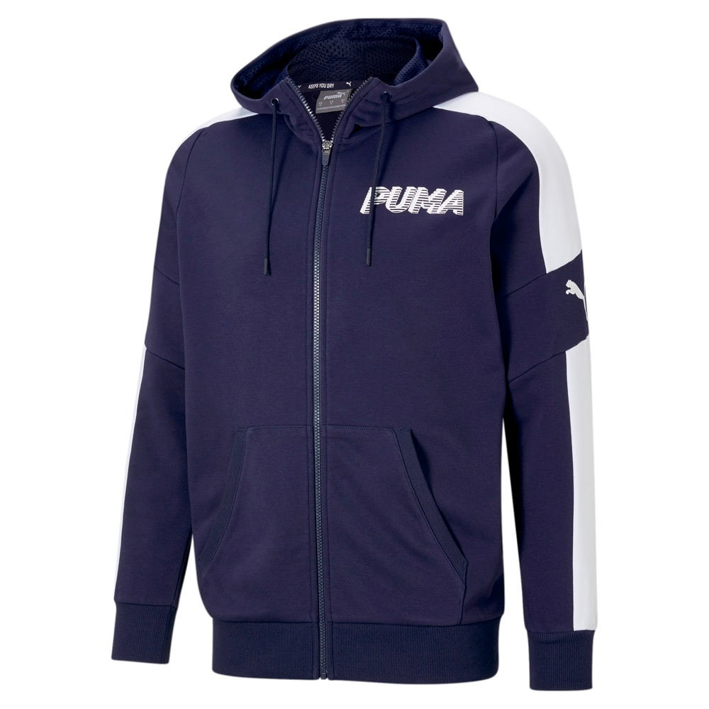 Зображення Puma Толстовка Modern Sports Full-Zip Men's Hoodie #1