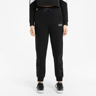 Imagen PUMA Pantalones de cintura alta para mujer Rebel