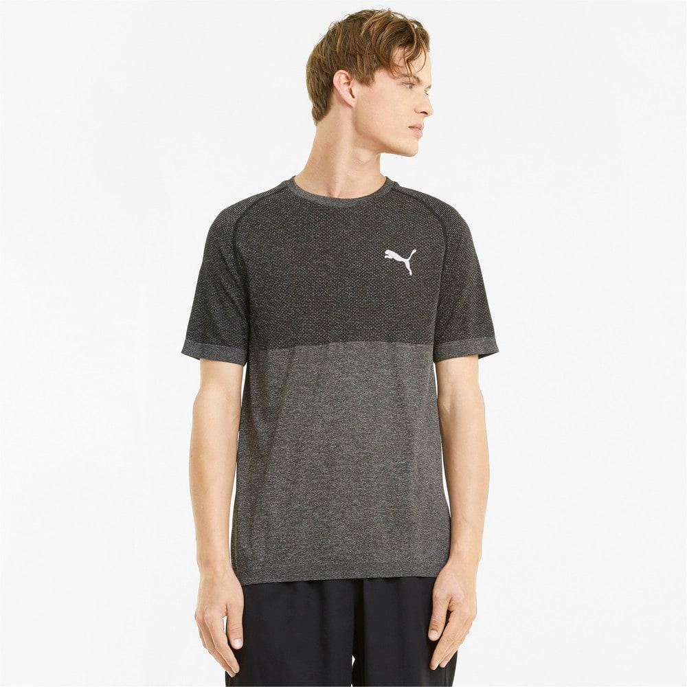 Image PUMA Camiseta evoKNIT RTG Basic Masculina #1