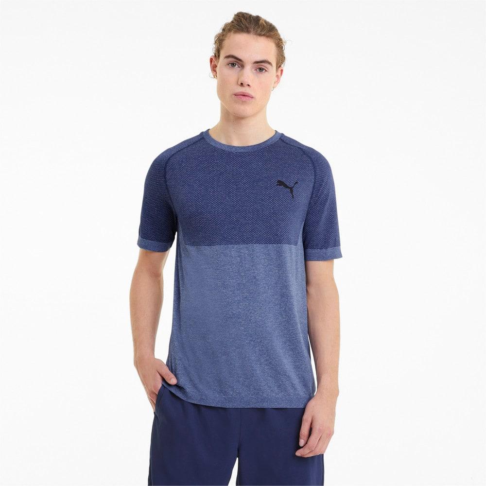 Изображение Puma Футболка evoKNIT RTG Basic Men's Tee #1: Elektro Blue