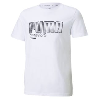 Изображение Puma Детская футболка Active Sports Graphic Youth Tee