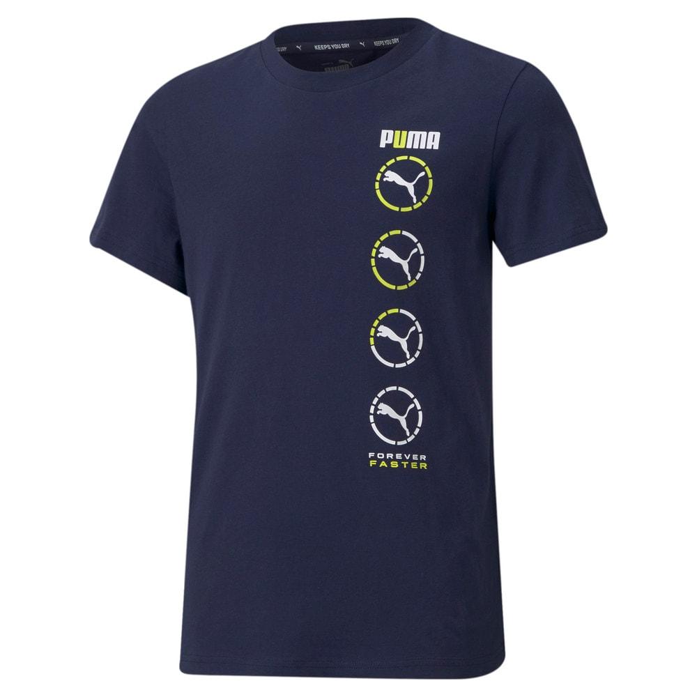 Изображение Puma Детская футболка Active Sports Graphic Youth Tee #1