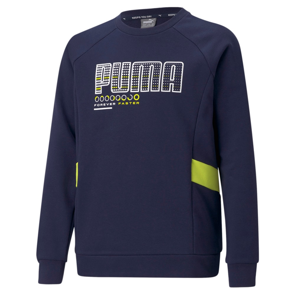Image Puma Active Sports Crew Neck Youth Sweater #1