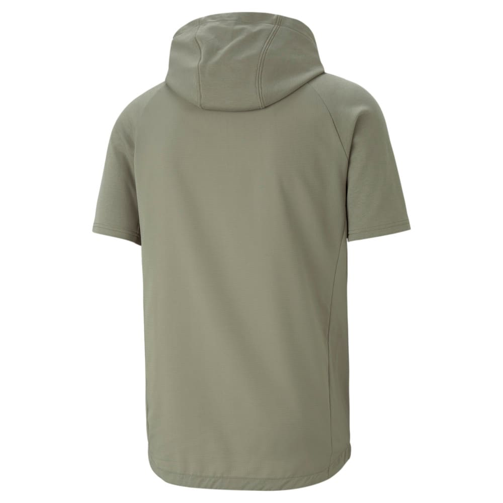 Изображение Puma Толстовка с коротким рукавом Evostripe Short Sleeve Men's Jacket #2: Vetiver