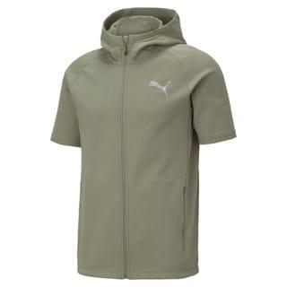 Изображение Puma Толстовка с коротким рукавом Evostripe Short Sleeve Men's Jacket
