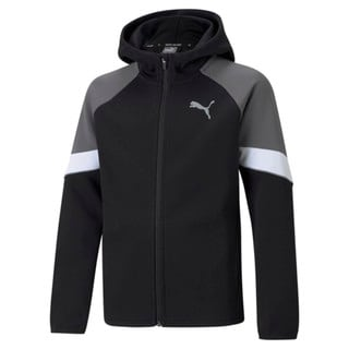 Изображение Puma Детская толстовка Active Sports Full-Zip Youth Hoodie