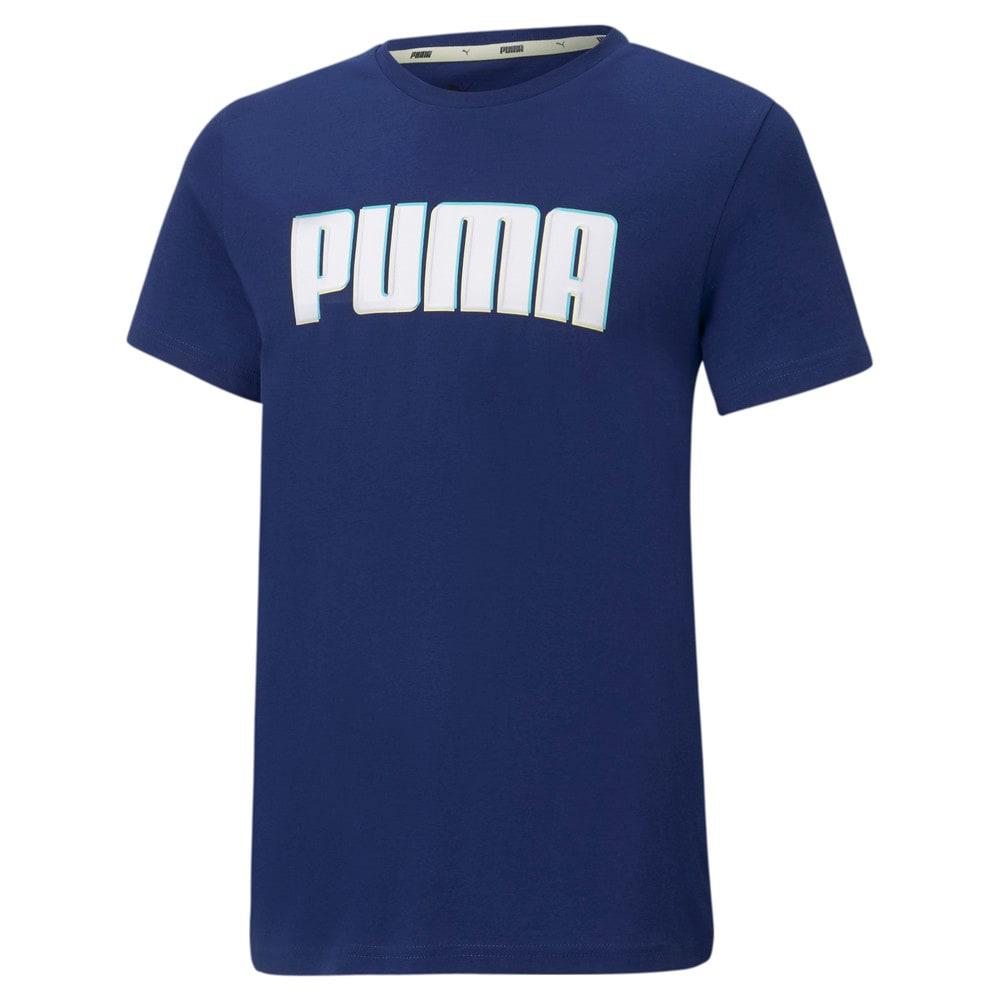 Изображение Puma Детская футболка Alpha Graphic Youth Tee #1