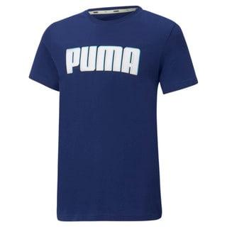 Изображение Puma Детская футболка Alpha Graphic Youth Tee