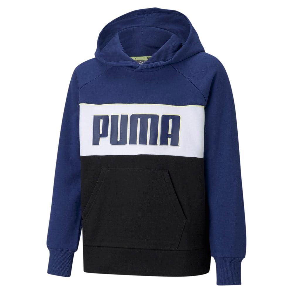 Изображение Puma Детская толстовка Alpha Youth Hoodie #1
